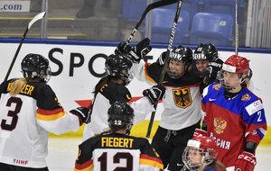 Im 500. Länderspiel: Frauen besiegen Russland mit 2:1 und ziehen ins Halbfinale gegen die USA ein