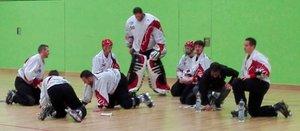 Viele Tore und eine kuriose Situation zum Start der Playoffs im Skaterhockey