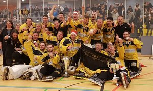 Crash Eagles Kaarst erstmals seit 1998 wieder deutscher Skaterhockey-Meister