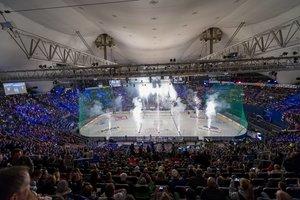 Zwei der drei Spiele des EHC Red Bull München in der Olympiahalle bereits ausverkauft