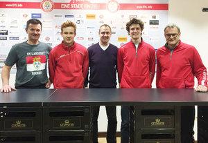 Youngster Marco Bassler und Luca Trinkberger verlängern beim EV Landshut