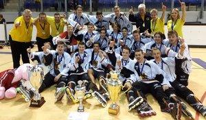 Titel erneut verteidigt: Deutschlands Skaterhockey-Junioren ungefährdet Europameister