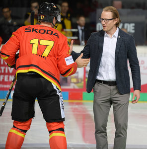 <p> Christian Ehrhoff beim Deutschland Cup im November. <br/>Foto: City-Press</p>