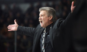 Trainer Paul Gardner steht vor dem Aus bei den Löwen Frankfurt