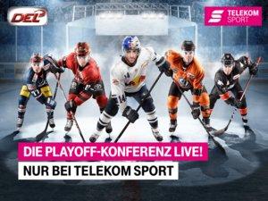 Telekom Sport zeigt am Freitag die Viertelfinals in der Live-Konferenz