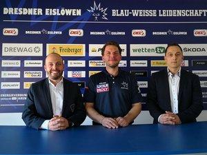 Jochen Molling beerbt Franz Steer als Trainer der Dresdner Eislöwen – Außerdem gibt es zwei neue Geschäftsführer