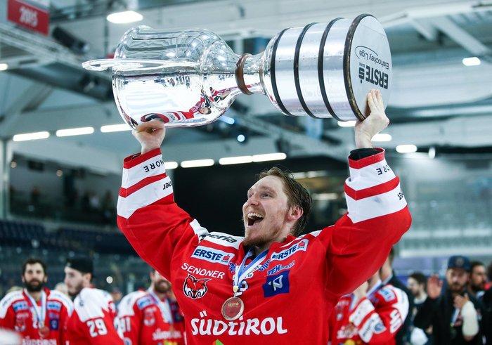 Im Dezember Letzter, dann mit Glück als Achter in die Playoffs: HC Bozen ist Meister der EBEL