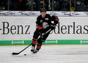 Nürnbergs Nationalspieler Leo Pföderl ist der Spieler des Monats März in der DEL