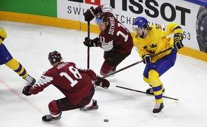 Schweiz überrascht Favorit Finnland, Schweden besiegt Lettland und steht damit ebenfalls im Halbfinale