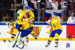 Erfolgreiche Titelverteidigung: Schweden gewinnt packendes WM-Endspiel gegen die Schweiz mit 3:2 nach Penalty-Schießen