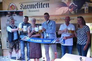 Karmeliten Brauerei ist neuer Biersponsor der Straubing Tigers