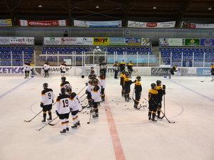 U18- und U20-Mannschaften des DEB trafen sich zum Sommercamp im Bundesleistungszentrum