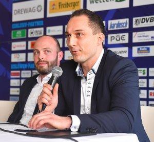 DEL2-Club Dresdner Eislöwen und Oberligist TecArt Black Dragons Erfurt weiten Kooperation auf Profibereich aus