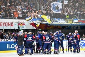 Historischer Erfolg: EHC Red Bull München steht nach verdientem 3:1-Sieg in Salzburg im Endspiel der Champions Hockey League
