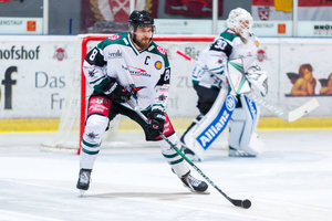 Nach Check im Derby gegen Landshut: Rosenheims Tobias Draxinger wird für vier Spiele gesperrt