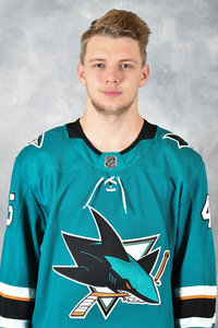 Lean Bergmann schafft Sprung in die NHL: Zum Saisonauftakt in Reihe zwei der San Jose Sharks