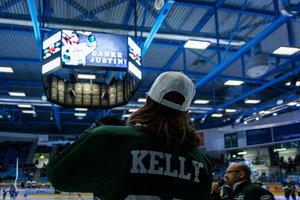 Die besten Fotos von Justin Kellys Abschiedsspiel in Bietigheim