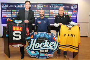 Hockey Open Air 2020: Stereoact zu Gast beim DEL2-Event-Game-Doppel in Dresden
