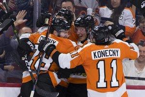 Flyers feiern gegen Edmonton den siebten Sieg in Serie, zwei Kahun-Assists in Minnesota, Nikita Kucherov erreicht die 80-Punkte-Marke