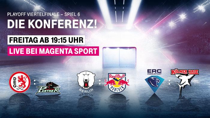 MagentaSport zeigt Spiele am Freitag für Abonnenten in Konferenz