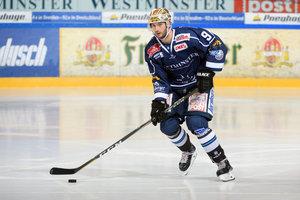 Jordan Knackstedt von den Dresdner Eislöwen ist Spieler des Monats März in der DEL2