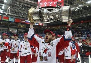 CSKA Moskau zum ersten Mal Gagarin-Cup-Sieger – Mamin wird zum Overtime-Helden