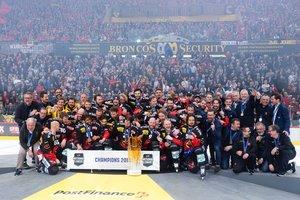 SC Bern ist nach 4:1-Seriensieg über den EV Zug Schweizer Meister - Dritter Titelgewinn für Justin Krueger