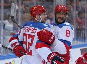 Ovechkin, Kuznetsov, Dadonov: Russische Star-Auswahl in der Slowakei – Auch Schweden mit einem Top-Aufgebot