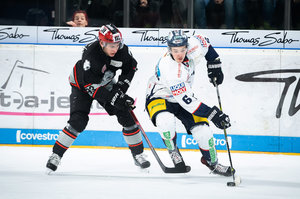 <p>Leo Pföderl (links) verstärkt die Eisbären Berlin.<br/>Foto: City-Press<br/></p>