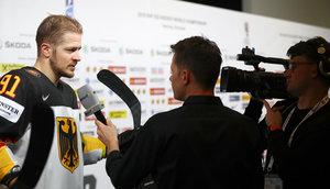 Sport1 erreicht Top-Quoten bei der 1:5-Niederlage der deutschen Eishockey-Nationalmannschaft gegen Tschechien