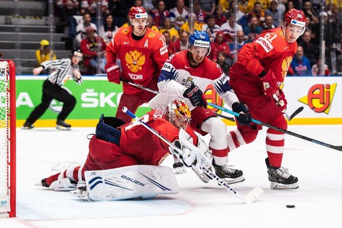 Eishockey Spiel Um Platz 3