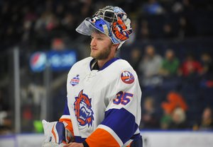 <p>Stephon Williams im Trikot der Bridgeport Sound Tigers im Jahr 2016. Foto: imago images/ZUMA Press<br/></p>