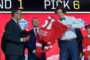 Überraschung perfekt: Detroit Red Wings wählen Moritz Seider im Draft bereits an sechster Stelle aus
