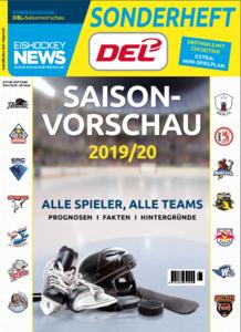 DEL-Sonderheft mit erstmals 228 Seiten zur Einstimmung auf die Saison 2019/20 ab sofort erhältlich