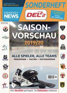 Das DEL2-Sonderheft für die Spielzeit 2019/20 ist ab sofort am Kiosk erhältlich