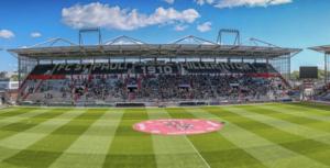 Crocodiles Hamburg planen zum Jahreswechsel Winter Game gegen Hannover Indians im Millerntor-Stadion