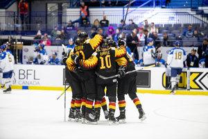 Deutsche U20-Nationalmannschaft gewinnt entscheidendes Relegationsspiel gegen Kasachstan mit 6:0