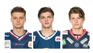 Mit Tim Stützle, John Jason Peterka und Lukas Reichel könnten erstmals drei Deutsche in Runde eins des NHL-Drafts gezogen werden