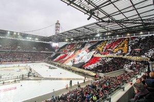 Kölner Haie 2021 erneut Gastgeber des DEL Winter Games: Haie empfangen im RheinEnergieSTADION die Adler Mannheim