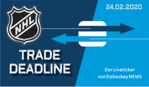 Der Ticker zur Trade-Deadline in der NHL