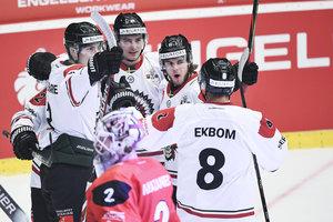 Drei Tore in weniger als drei Minuten: Rekordsieger Frölunda Göteborg bezwingt Hradec Kralove und verteidigt den CHL-Titel erfolgreich