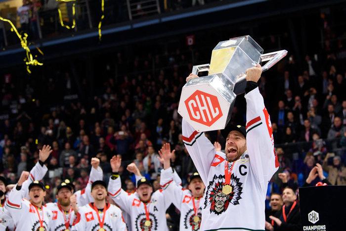 """Hradec Kraloves Goalie Mazanec trotz der Niederlage stolz, Frölundas Kapitän Lundqvist spricht vom """"unbedingten Glauben an das Team"""""""