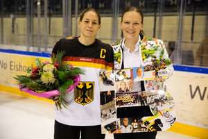 Andrea Lanzl stellt mit 322 Länderspielen neue Bestmarke im deutschen Eishockey auf