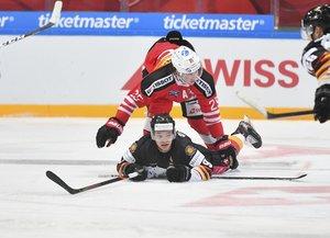 Top Team Peking bleibt in der Schweiz ohne Sieg: DEB-Perspektivauswahl verliert zweites Duell mit 1:2 nach Penalty-Schießen