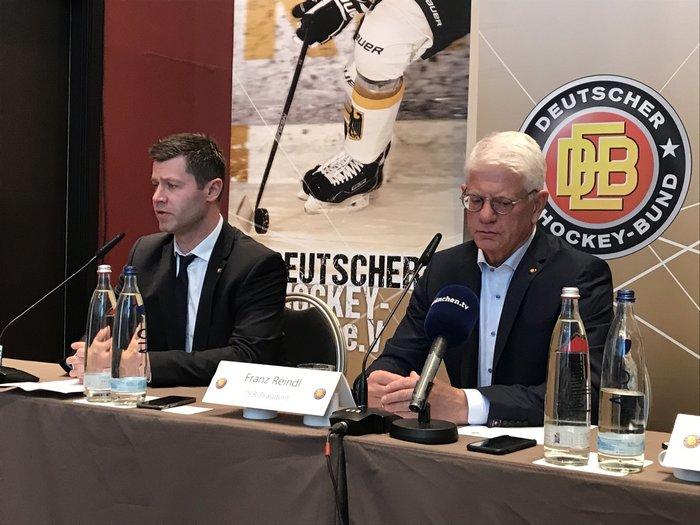 """""""Die Gesamtlage auf der Welt geht am Sport nicht vorbei"""": DEB-Präsident Reindl deutet WM-Absage an"""