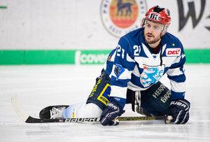 Wayne Simpson vom ERC Ingolstadt ist der Spieler des Monats Februar in der DEL