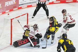 PENNY DEL am Sonntag: Kellerduell in Krefeld, Spitzenspiel in Mannheim und Nordderby