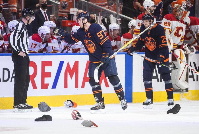 Hattrick McDavid, drei Vorlagen von Draisaitl: Zweiter Sieg im zweiten Spiel für Edmonton – Greiss überragt bei Detroits 3:1-Erfolg