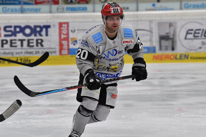 Ville Järveläinen von den Bayreuth Tigers ist der Spieler des Monats Februar in der DEL2