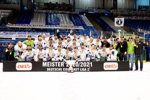 Reverse Sweep perfekt: Bietigheim gewinnt in Kassel mit 5:2 und feiert die DEL2-Meisterschaft sowie die sportliche Erstliga-Qualifikation